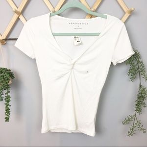 NWT AEROPOSTALE // knot front top